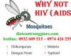 Muỗi có thể truyền hiv sang người?