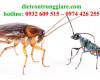 Những côn trùng nào ăn gián?