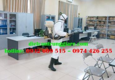 Dịch vụ khử trùng văn phòng chuyên nghiệp