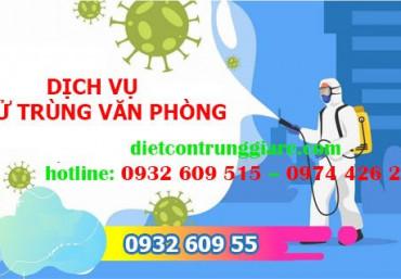 Dịch vụ khử trùng văn phòng tại Tân Bình