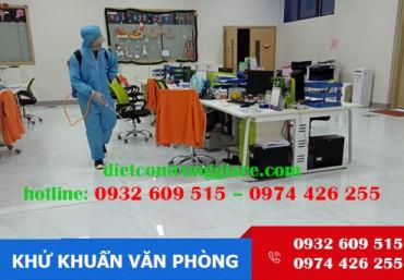 Dịch vụ khử trùng văn phòng tại Bình Chánh