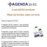 Bayer termite protection Agenda