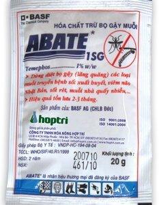 Hóa chất trừ bọ gậy, muỗi Abate