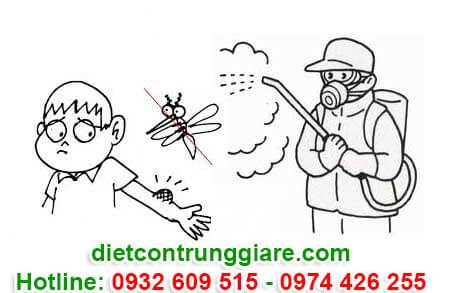 diệt muỗi tại quận 4 giá rẻ