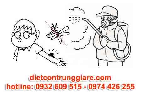 diệt muỗi tại quận bình tân giá rẻ