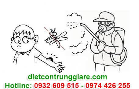 phun thuốc diệt muỗi tại quận 12 giá rẻ