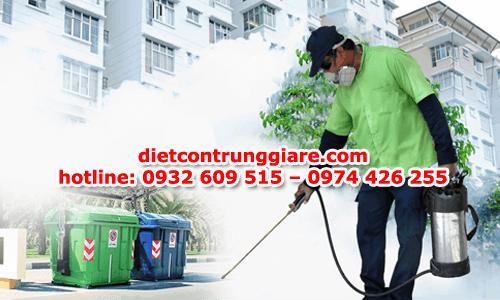 diệt côn trùng gây hại quận 3 giá rẻ
