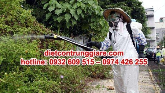phun thuốc diệt muỗi quận bình tân giá rẻ