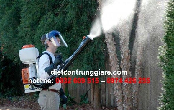 phun thuốc diệt muỗi quận tân bình giá rẻ