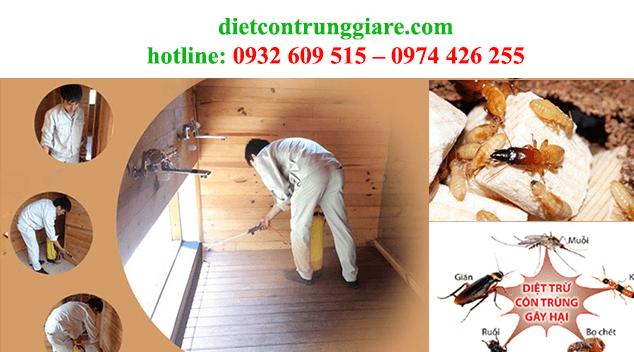 kiểm soát côn trùng gây hại giá rẻ