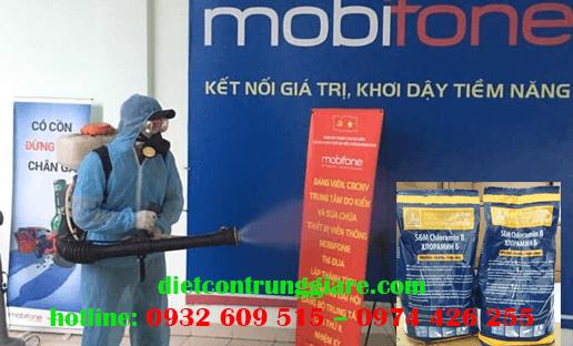 Khử trùng sát khuẩn Cloramin B (2019-nCov)