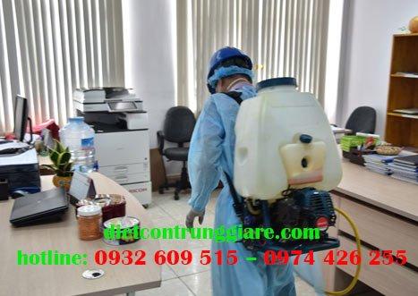 Dịch vụ khử trùng văn phòng tại Gò Vấp