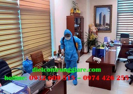 Dịch vụ khử trùng văn phòng tại tphcm