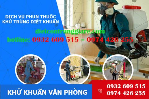 Dịch vụ khử trùng văn phòng tại Bình Tân